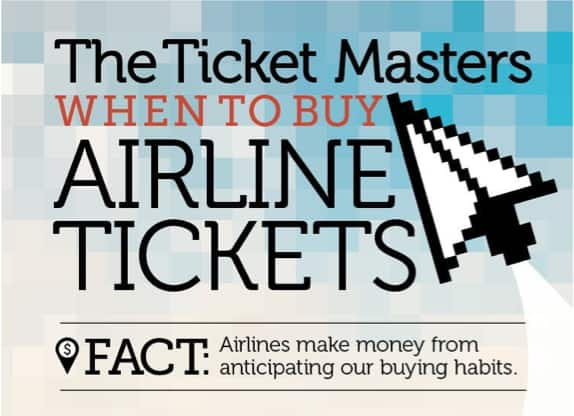 When is the best time to buy a plane ticket? (Photo by )