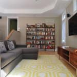 Creative decorating can taking your apartment from boring (and ugly) to brilliant. (Photo courtesy of Habitar Design)
