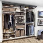 Get your cluttered closet in order with some basic organization ideas. (Photo courtesy of Samantha Hochman/TransFORM Home)