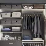 Any small closet can become efficient with some smart organizing. (Photo courtesy of Samantha Hochman/TransFORM)