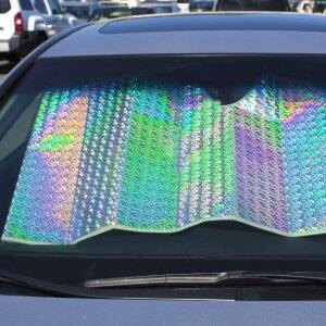 Car window visor