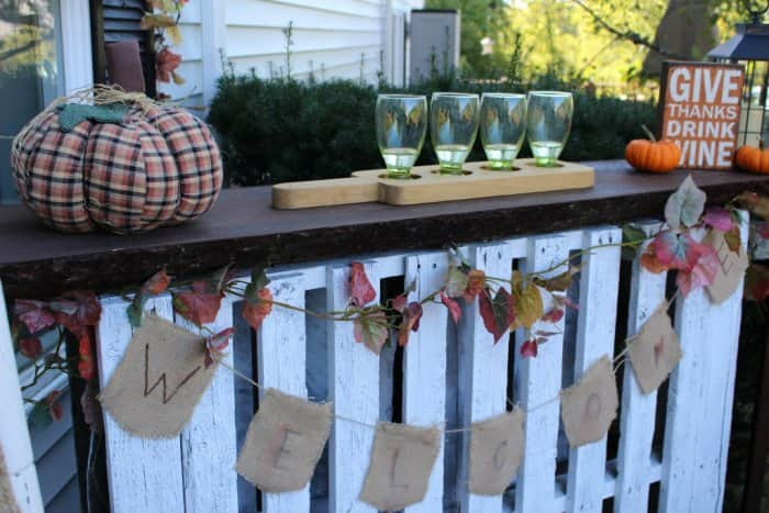 reclaimed pallet becomes upcycled bar