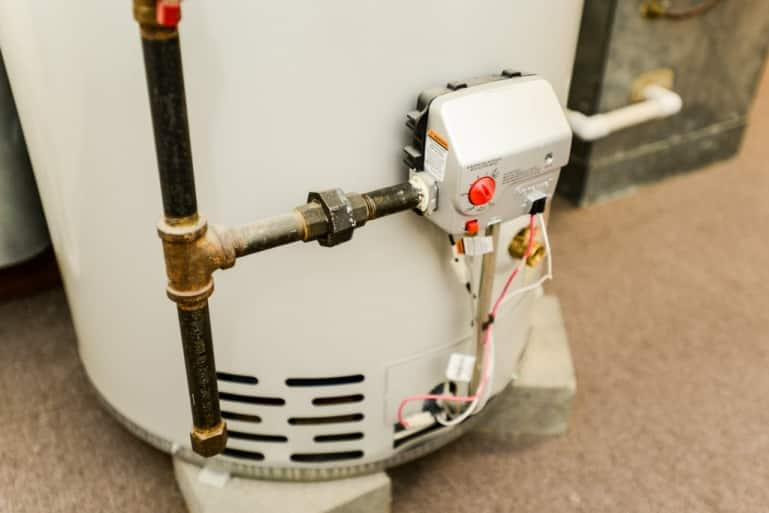 water heater - dallas home inspector