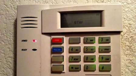 Newer home security alarms offer wireless features to alert authorities. (Photo by Angie's List member Angela A.)
