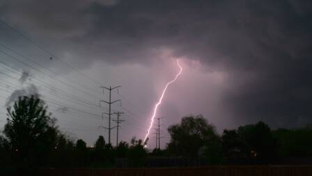 Lightning strikes have the potential to destroy a home's entire electrical system, causing thousands in damages. (Photo by Steven Jack)