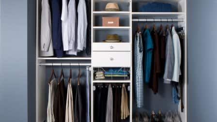 Reach-in closet by transFORM