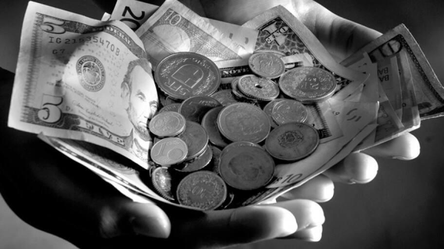 money in hand helps when parents needs financial help