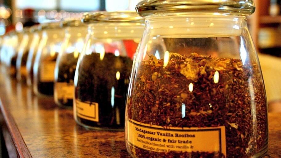 tea jars