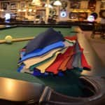 Pool table felt colors