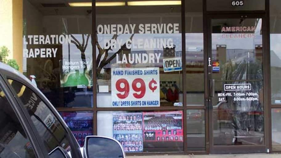 Check Angie's List for reviers of local dry cleaners in your area. (Photo courtesy of Angie's List member Larry H. of Dallas)