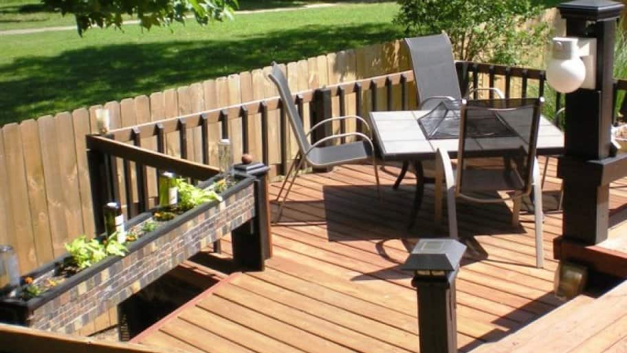 The right furniture can accent a nice deck. (Photo courtesy of Angie's List member Dawn K. of Cordova, Tennessee)