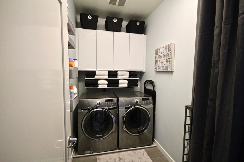 David Sheinkopf's Laundry Room Remodel After