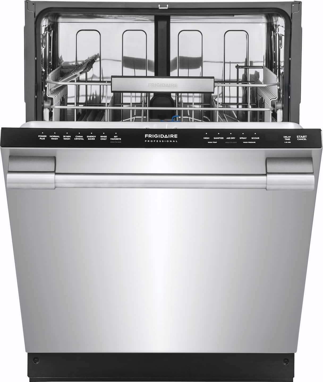 FPID2497RF dishwasher partially open front shot jpg