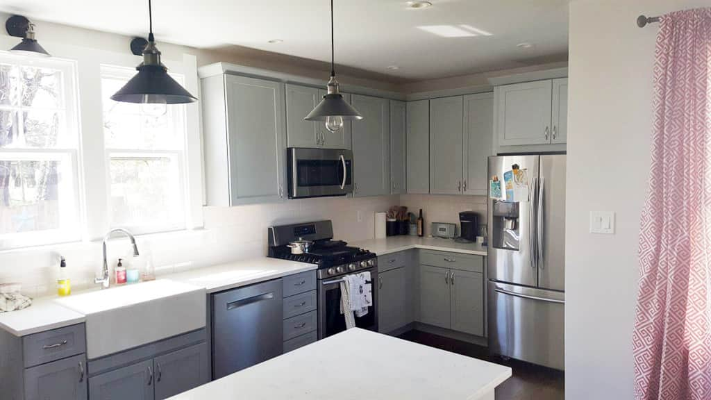 Gray Cabinets Are The New White .