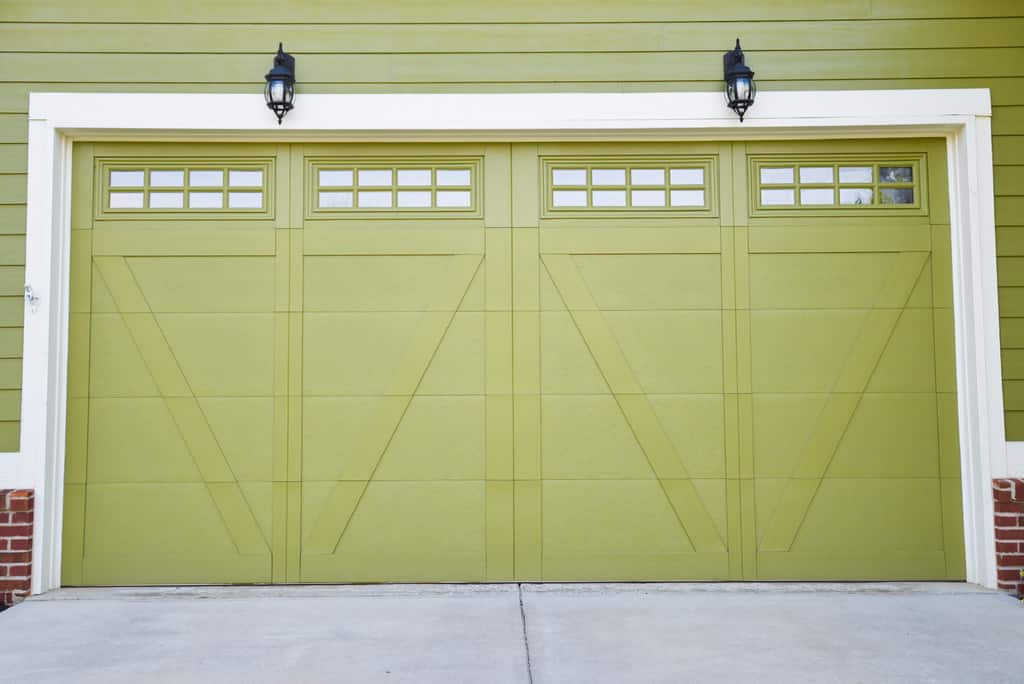 Light Oak Composite Front Door Part - 38: Is The Garage Door Your Front Door? Keep It Safe