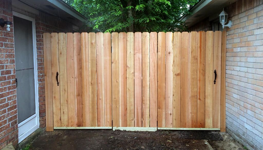 wooden fence - Fences - Guide To Fencing Costs & Materials Angie's List