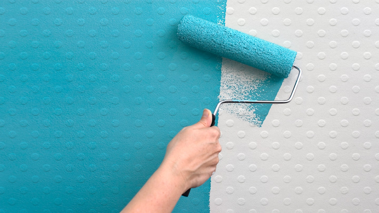 Wallpaper Paint Roller 5 tips for paintable wallpaper | angie's list