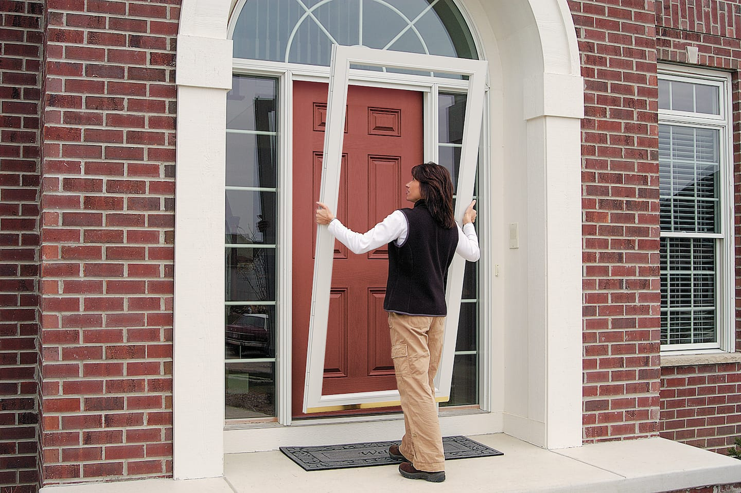 Storm Doors Protect Better Than Screen Doors Angies List