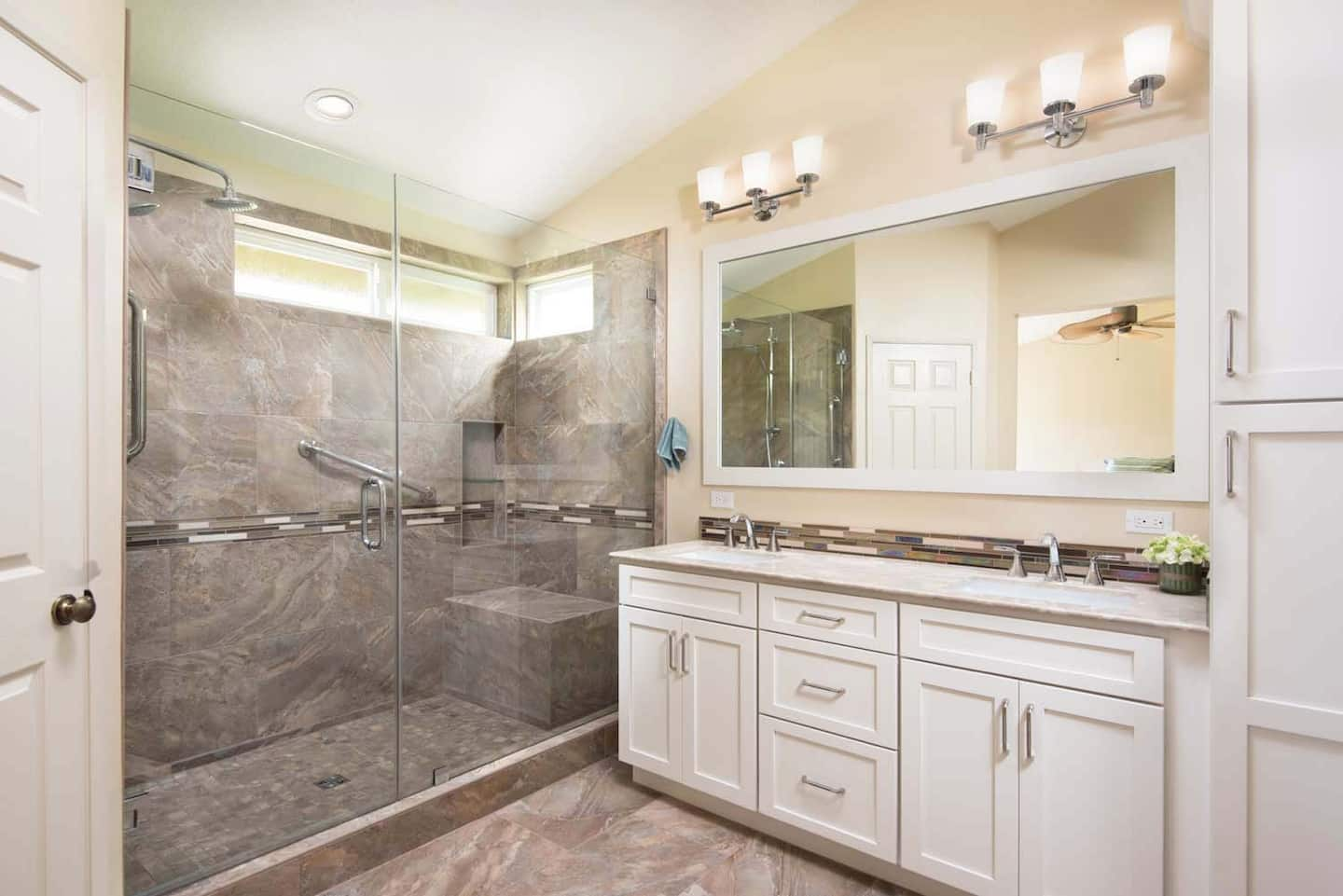 Bathroom Renovation Cost Long Island how much does a bathroom remodel cost? | angie's list