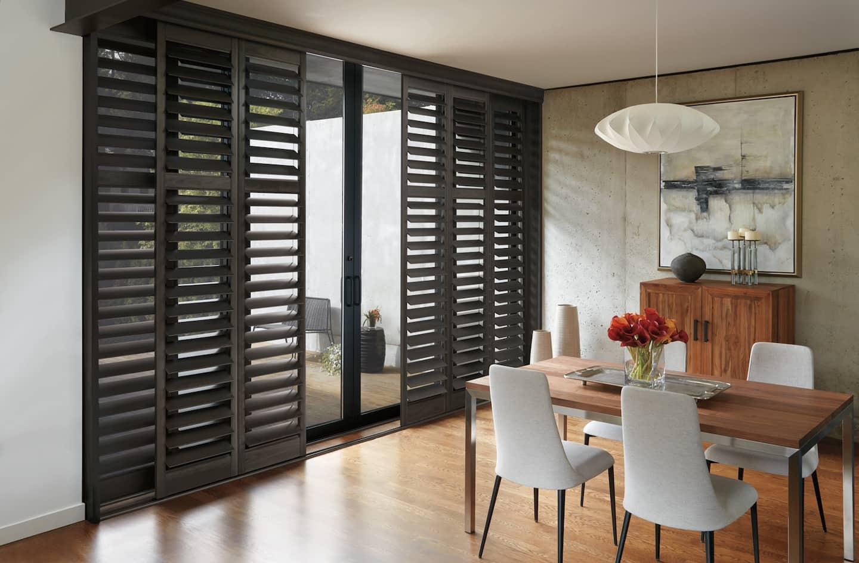 6 sliding door window treatment options angies list