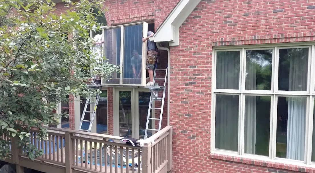 local window installers vinyl video windows installation dos and donts replacement angies list