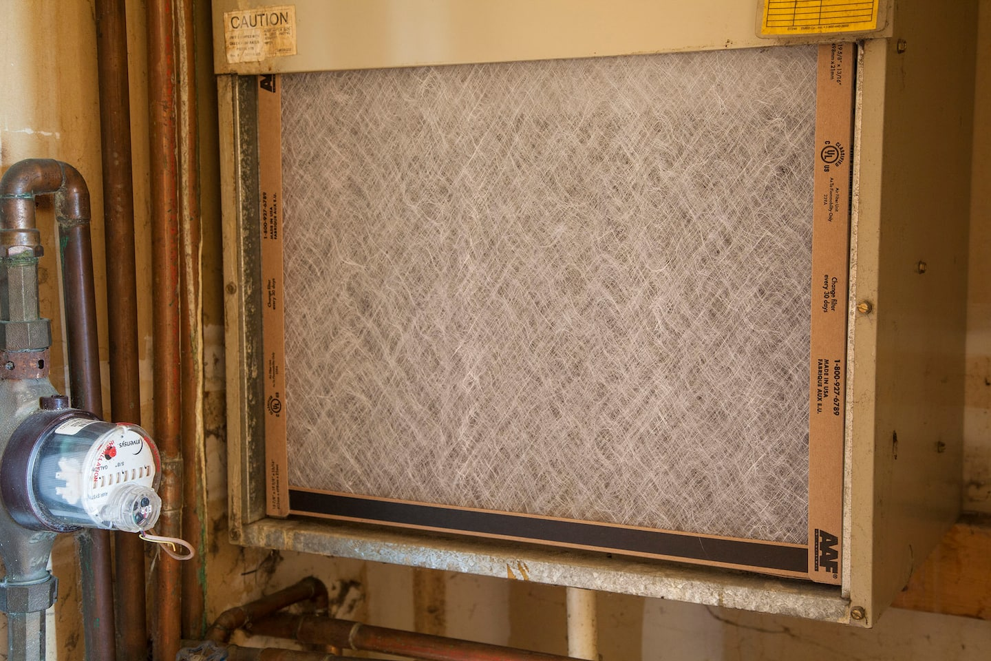 Check air filters to extend your hvac system angies list a clean furnace filter for hvac system sciox Images