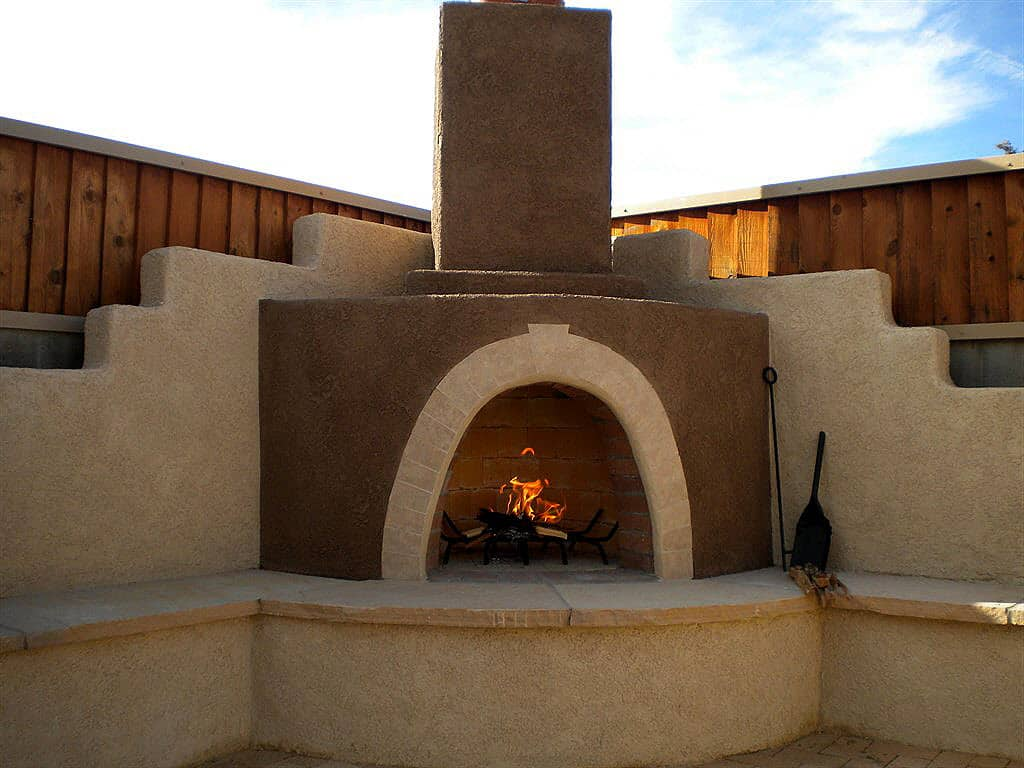 how much does an outdoor fireplace cost angie u0027s list