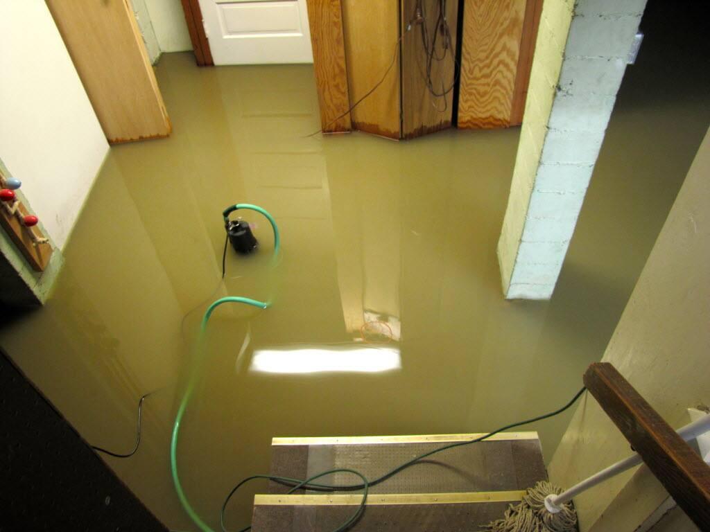 basement, flood, sump pump