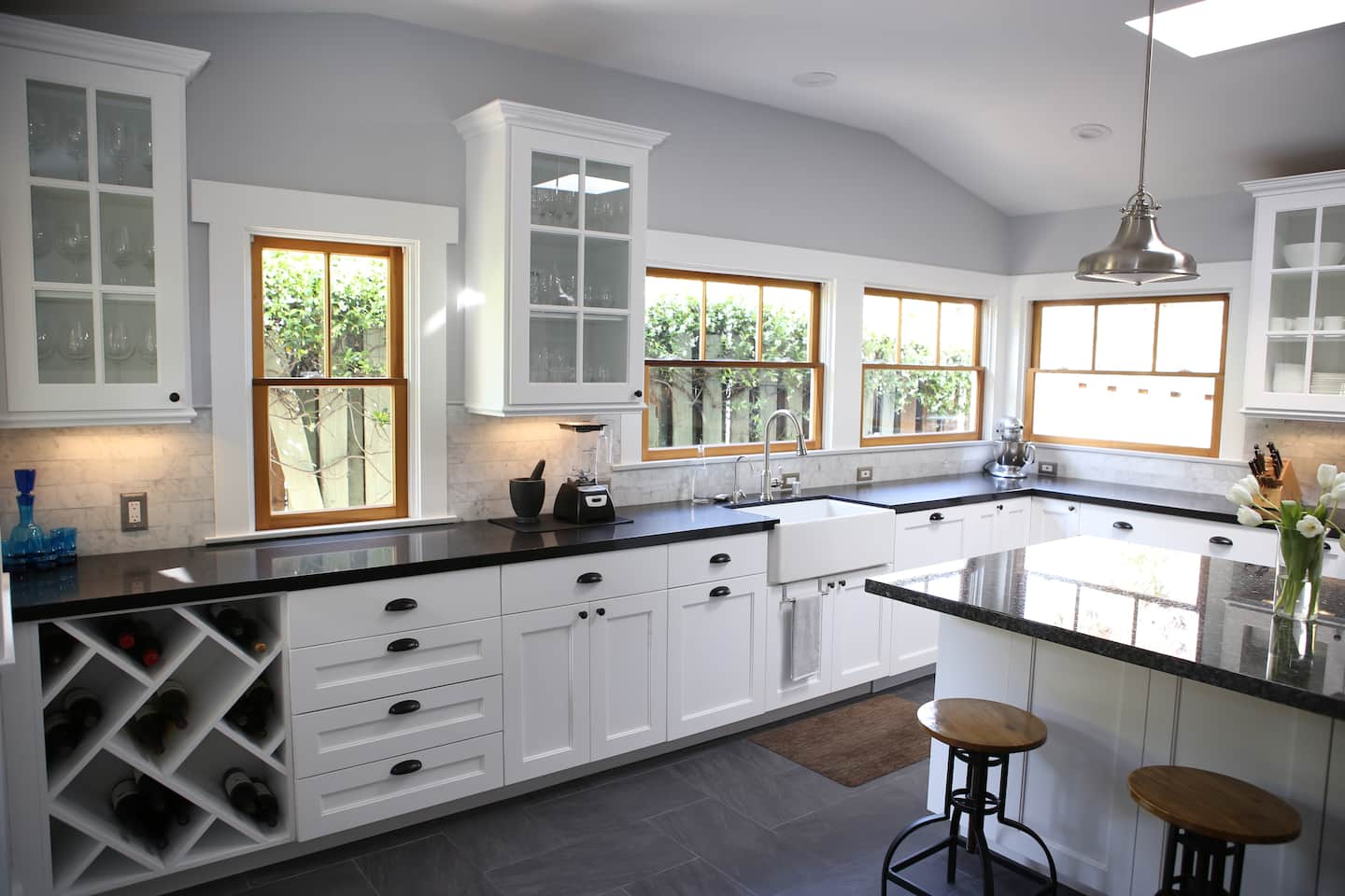Refinished White Cabinets Cabinet Refacing And Refinishing Trends For 2016 Angies List