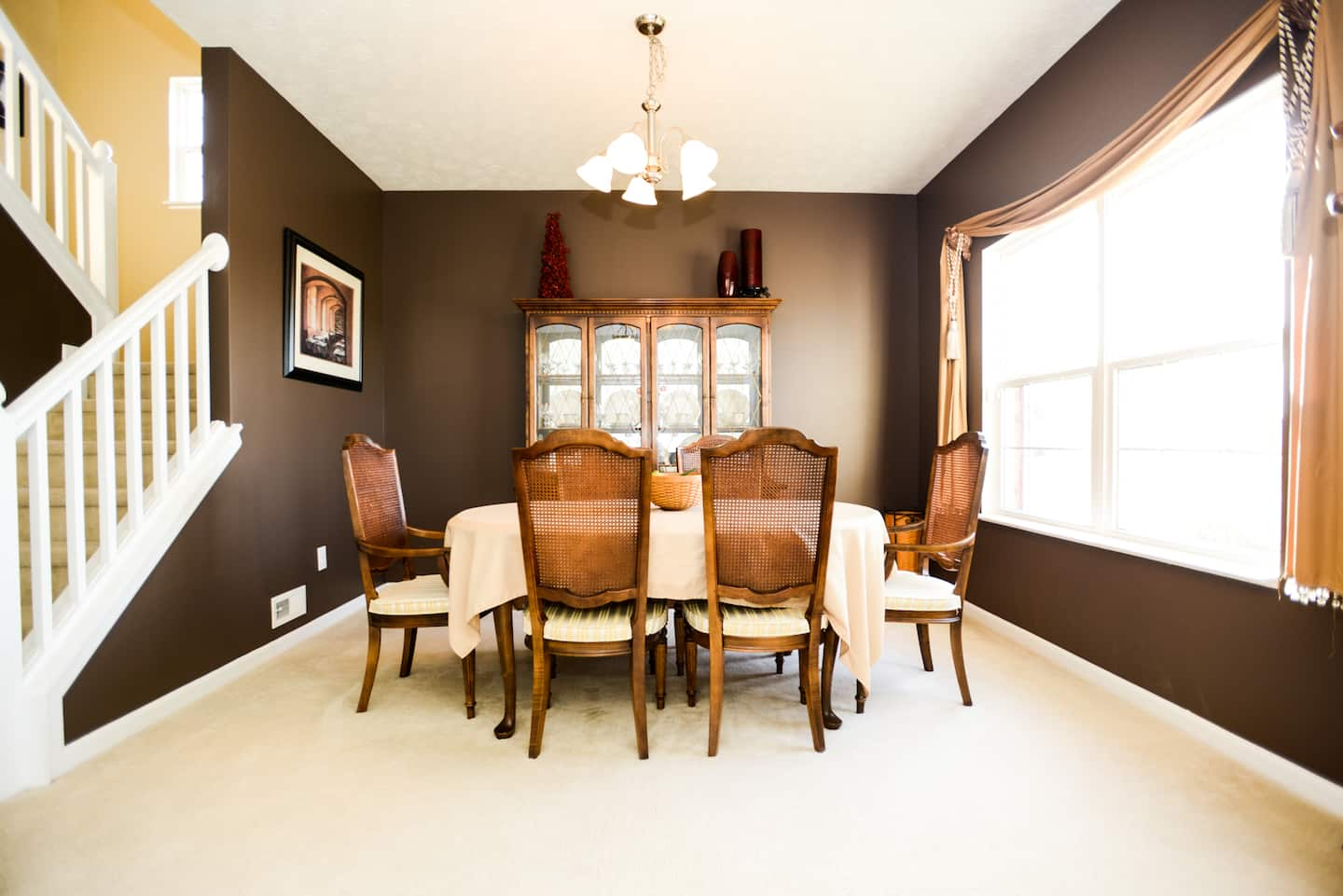 brown dining room paint colors. Dining Room and Kitchen Table Design Ideas   Angie s List