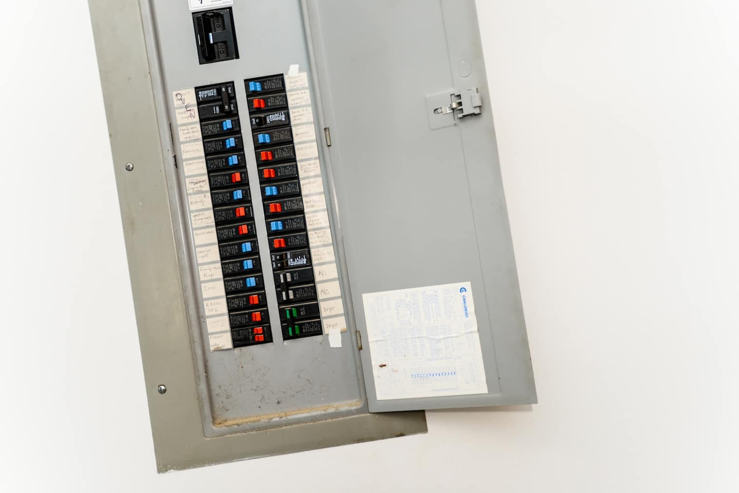 Circuit Breaker Cabinet How Water Gets Into Electrical Circuit Panels Angies List