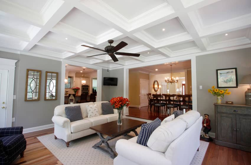 coffered ceilings and their benefits | angie's list