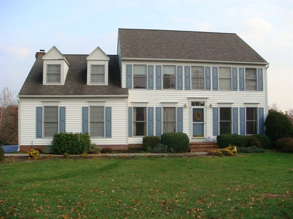 Colonial Style House Best Exterior Paint Colors
