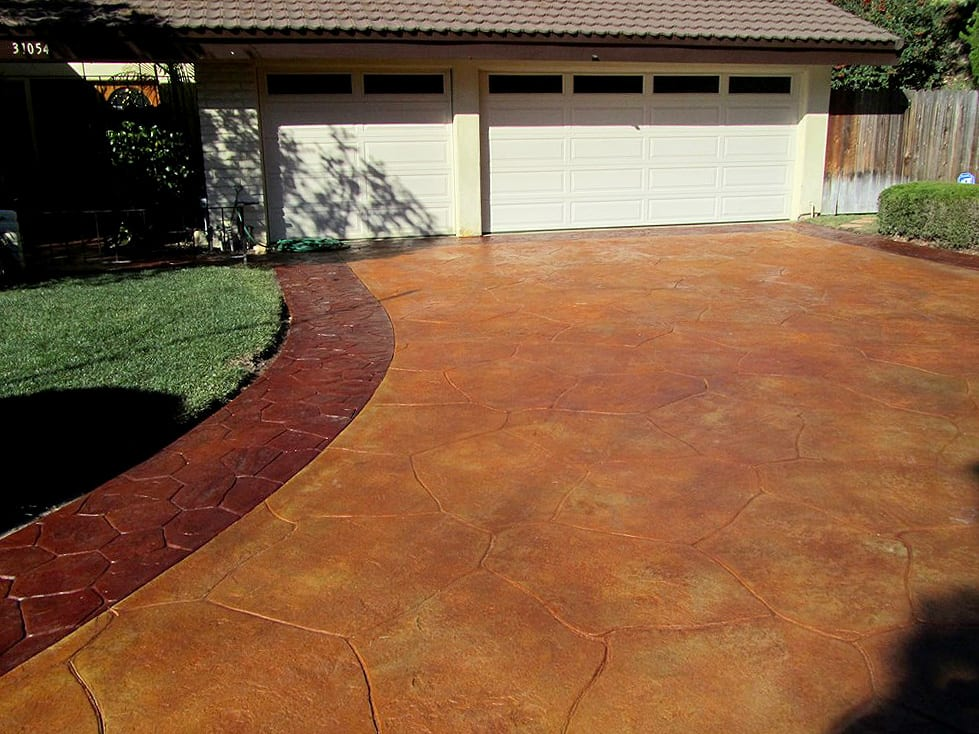 Brown Driveway Pavers : Rock and gravel phoenix best photo of less peoria az