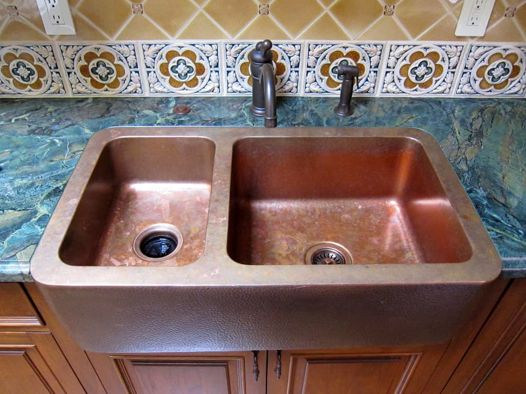 Granite sink pros cons - Copper Farmhouse Sink Pros And Cons Of Copper