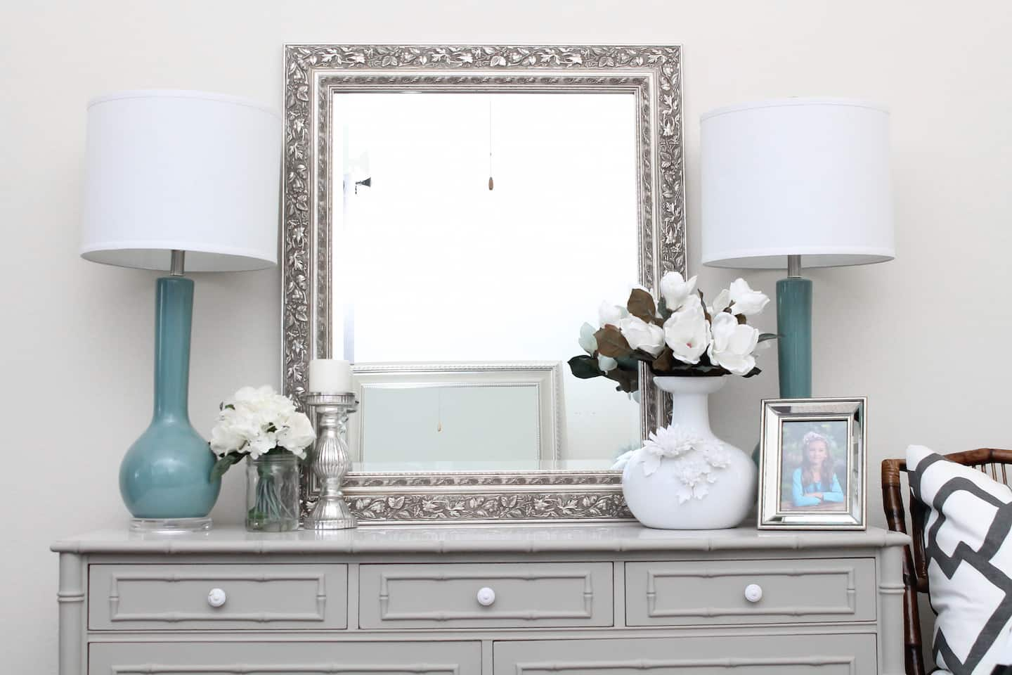 top office decorating ideas.htm 5 tips on how to decorate a dresser top angie s list  5 tips on how to decorate a dresser top