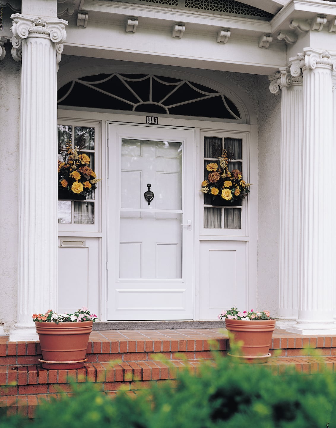3 ways to make your front door energy efficient angies list white pella storm door on home exterior rubansaba
