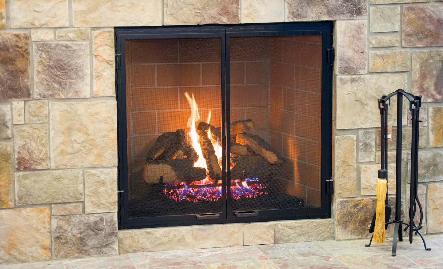 Awesome Gas Fireplace Surround Ideas Angies List Home Interior And Landscaping Mentranervesignezvosmurscom