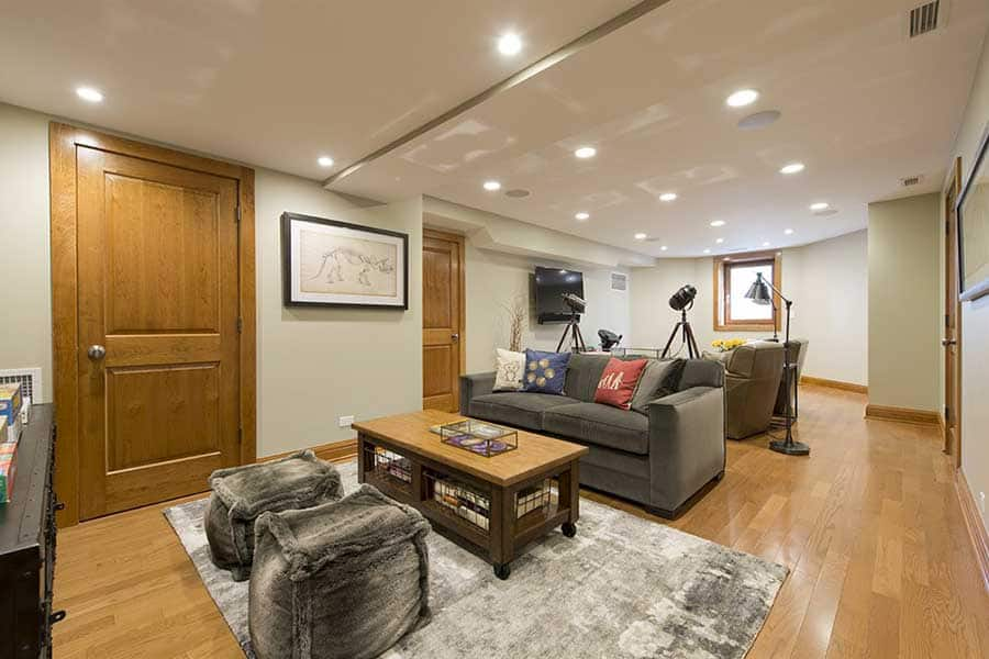 Homeowner S Dream Basement Remodel Angie S List
