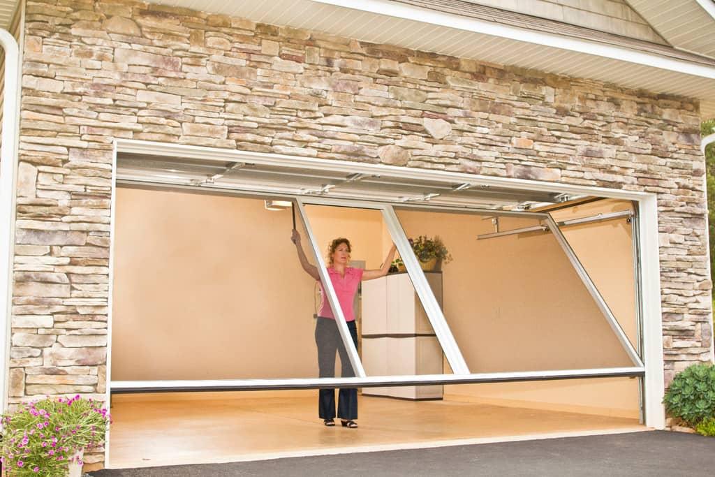 Consider Installing A Garage Door Screen Angies List