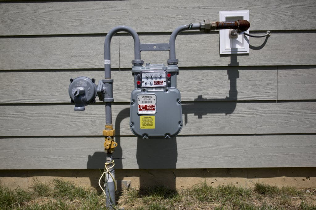 Gas Fireplace Service Cincinnati Part - 41: Gas Meter