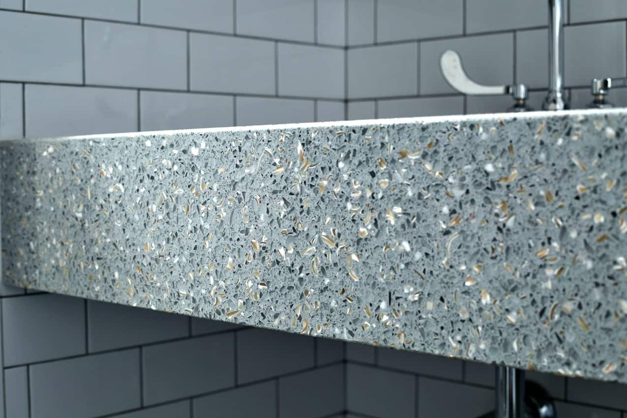 How Much do Recycled Glass Countertops Cost? | Angie\'s List