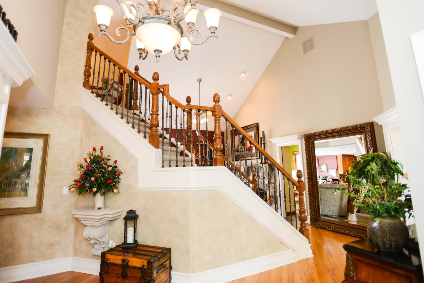 rod iron railing for interior and exterior decorations.htm how to decorate a grand entrance angie s list  how to decorate a grand entrance