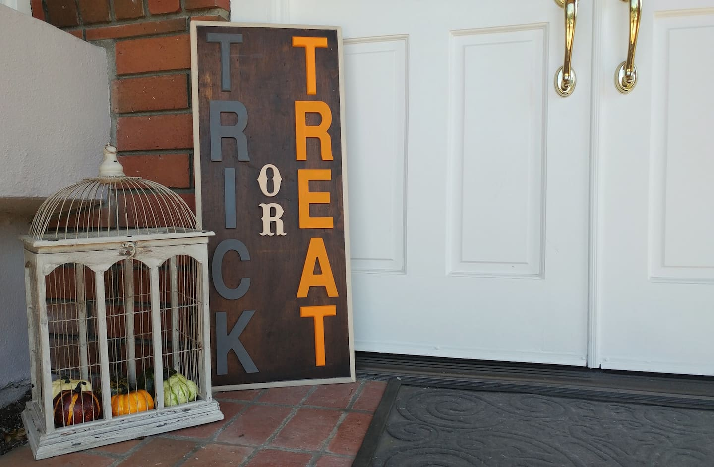 decorative wooden letters.htm how to make a diy halloween porch sign angie s list  how to make a diy halloween porch sign
