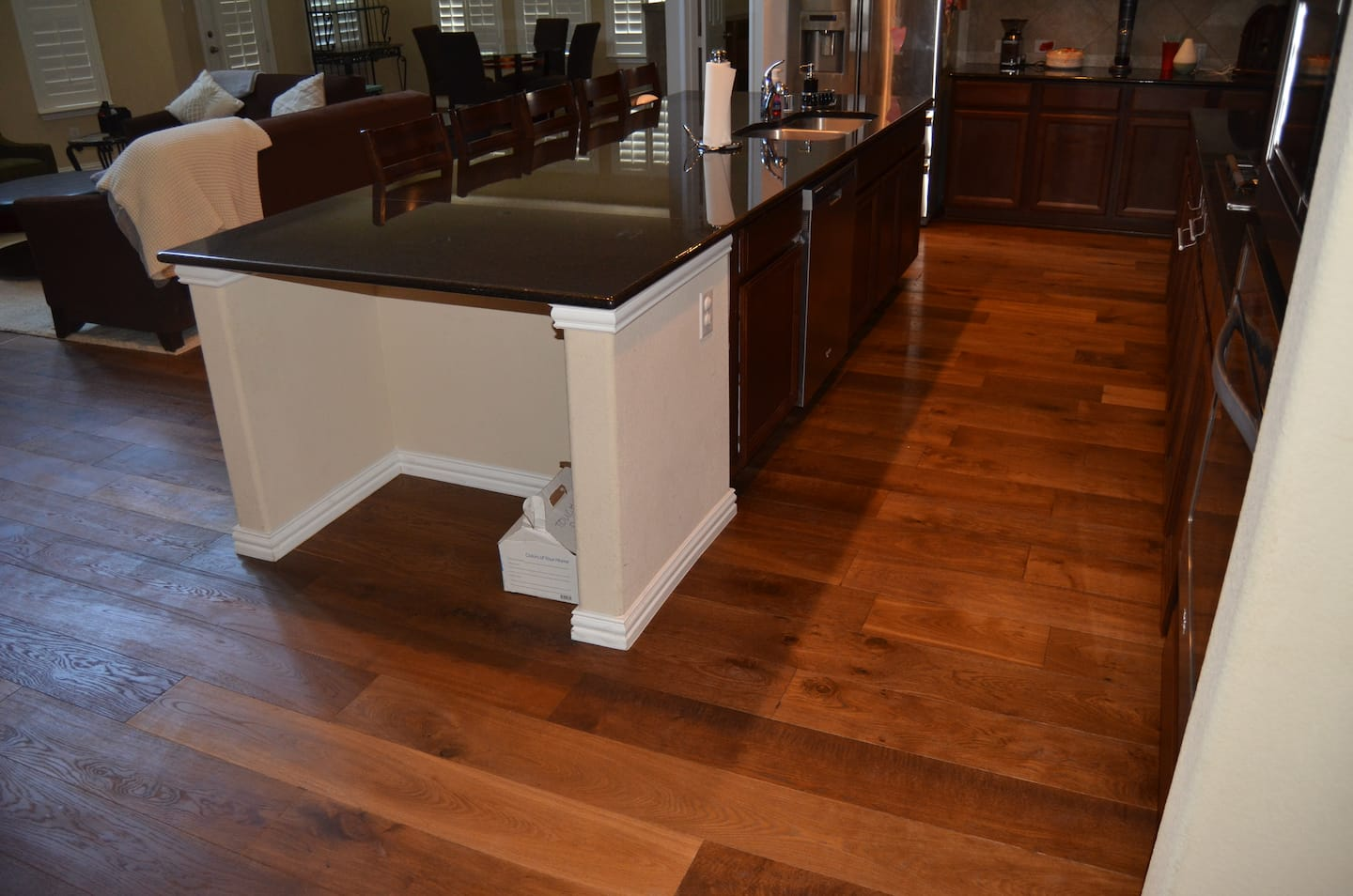 Hardwood Floor In The Kitchen Floor Angies List