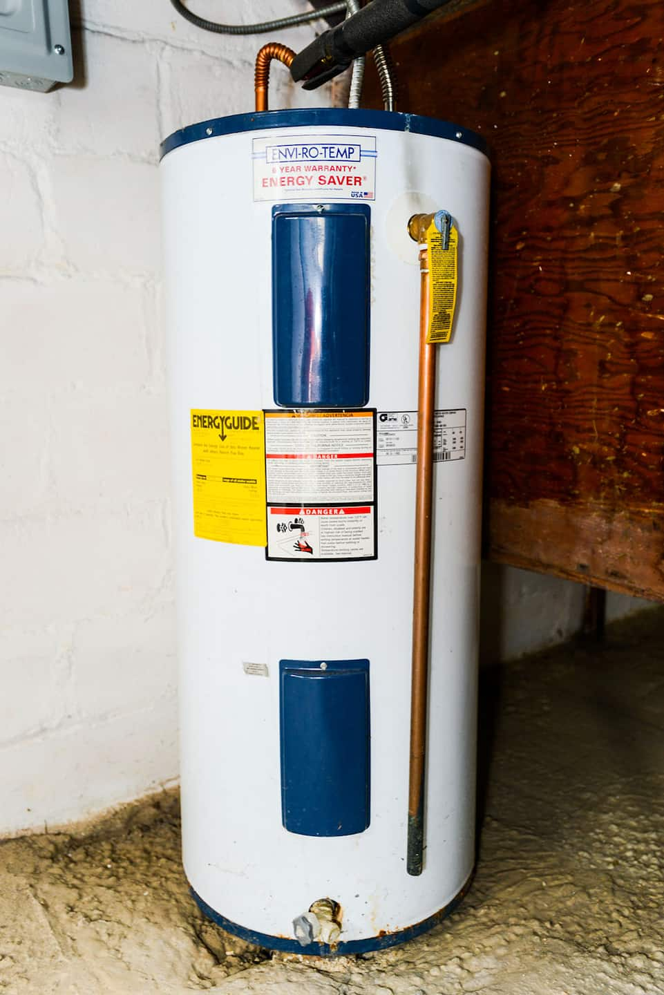 Can you hook up propane tank water heater