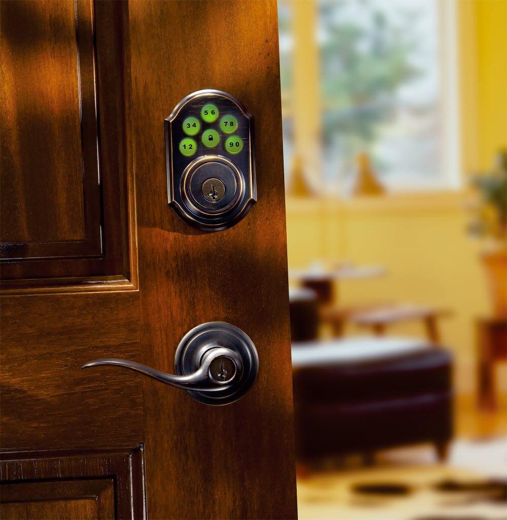 keypad front door lockIs a Keyless Lock as Good as a Regular Deadbolt  Angies List