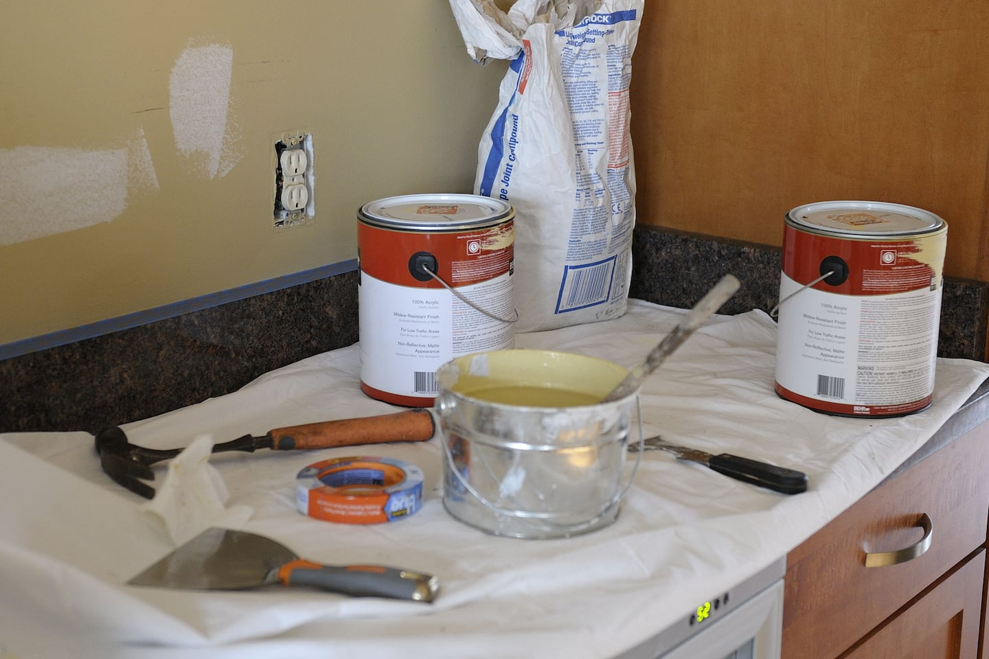 how to prep kitchen walls for painting angie s list
