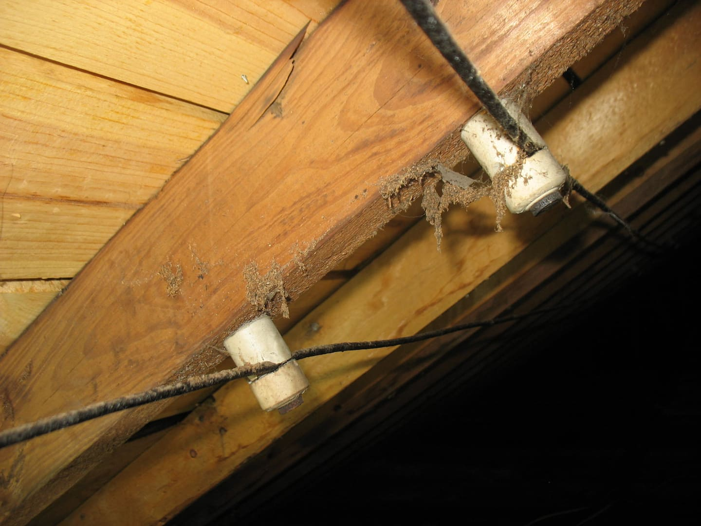 Is Knob And Tube Wiring Safe Angies List Styrofoam Basement