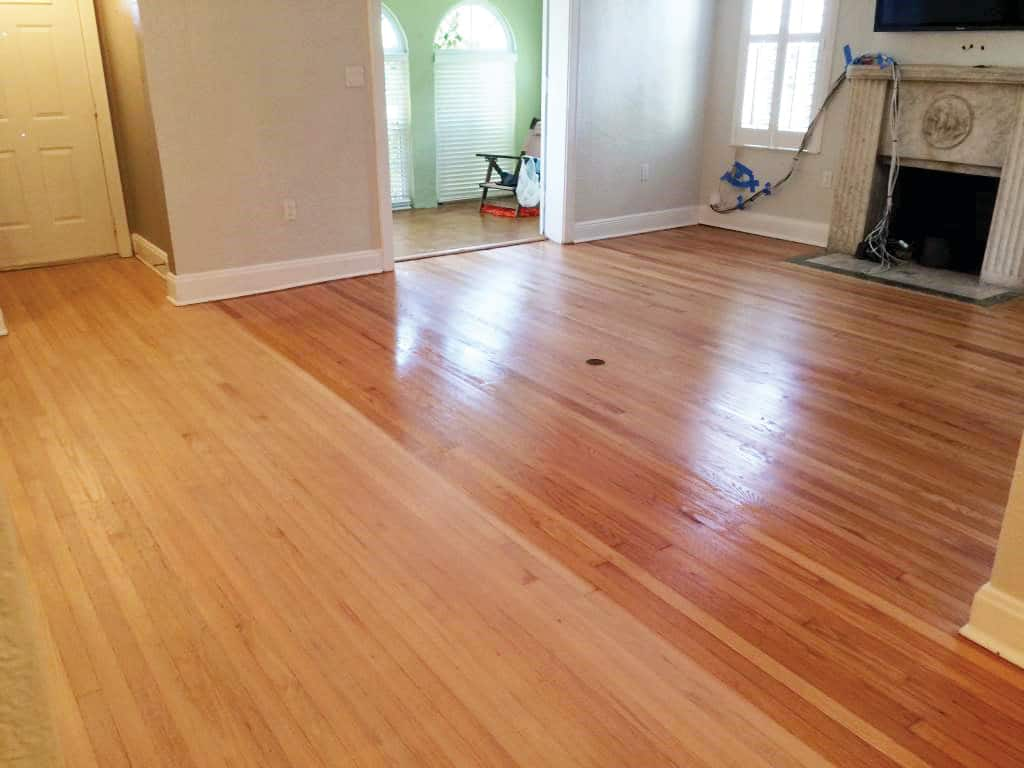 Local floor refinishers meze blog for Wood floor refinishing